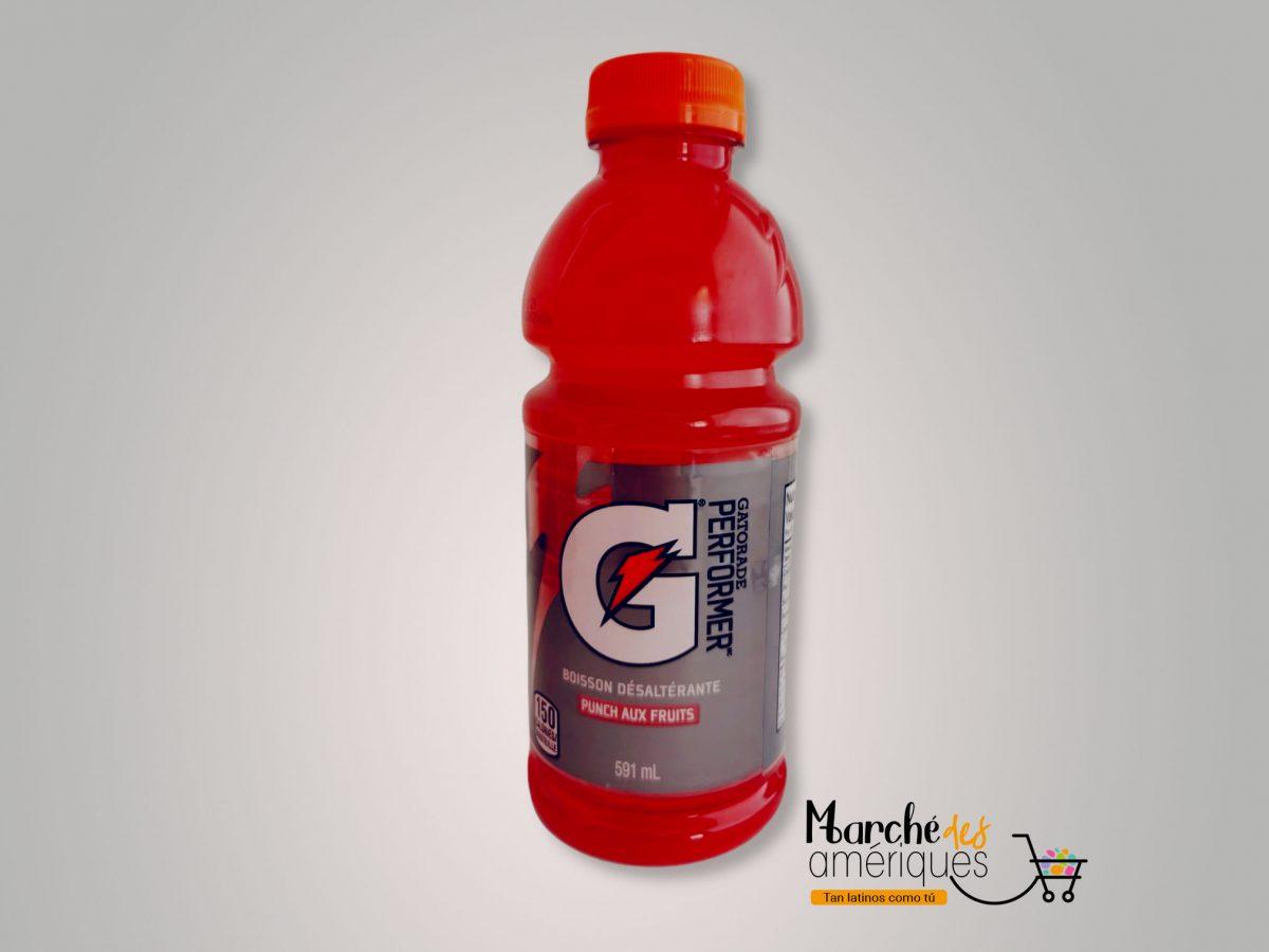 Bebida Refrescante De Frutas Para Deportistas Gatorade 591 Ml
