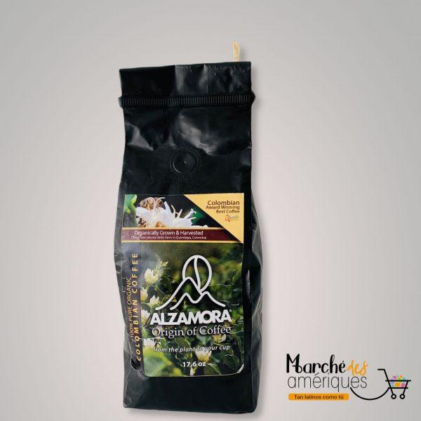 Cafe Colombiano Organico Molido Alzamora 176 Oz