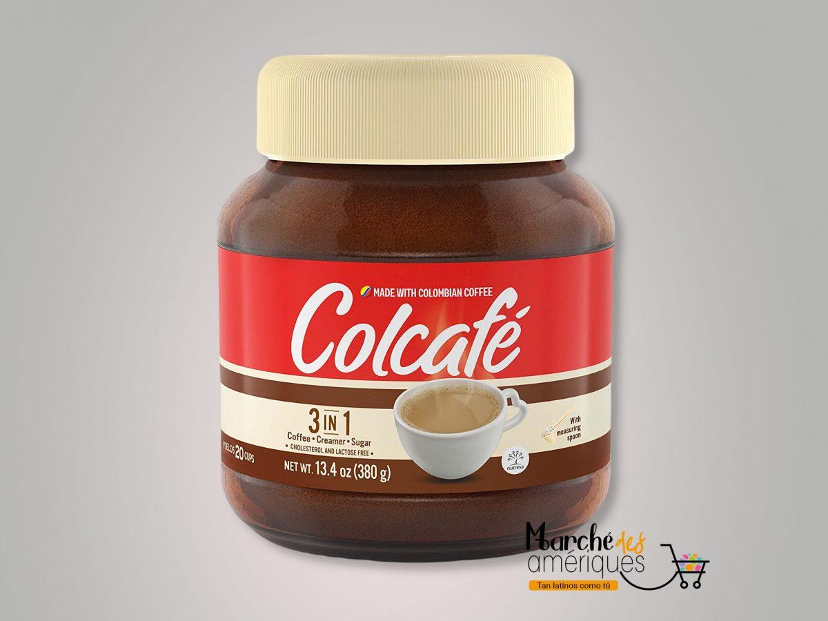 Cafe Instantaneo 3 En 1 Crema Azucar Colcafe 380 G