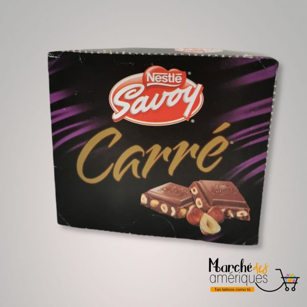 Carre Chocolate Con Leche Y Avellanas Savoy 400 G 16 Ud