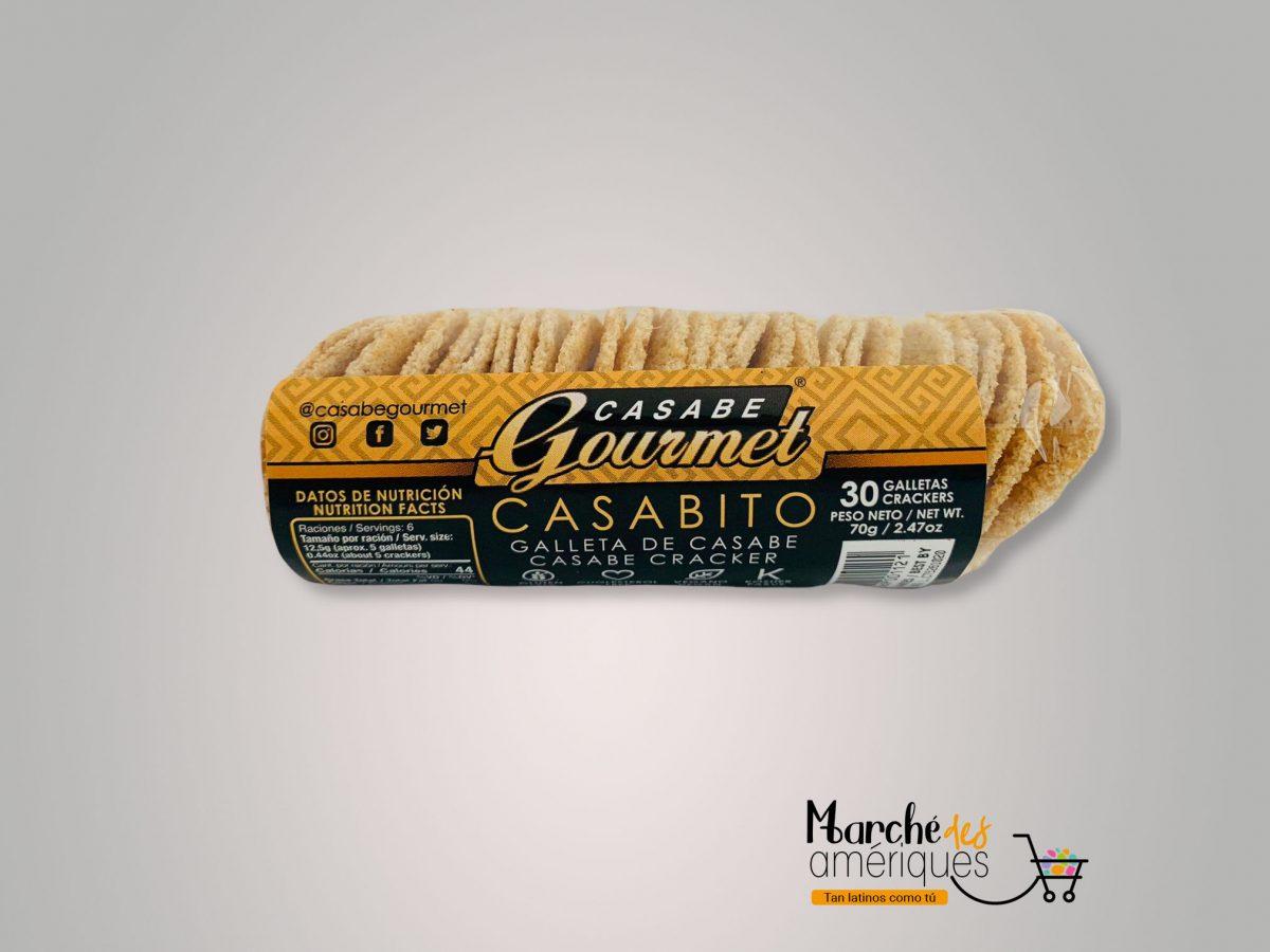 Casabito Galleta De Casabe Casabe Gourmet 30 70 G