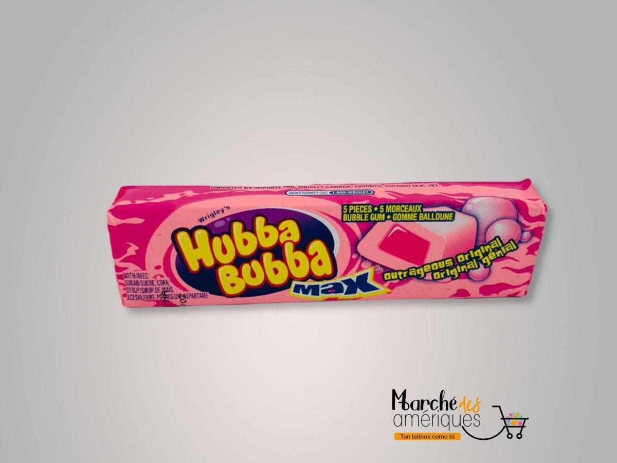 Chicle Max Hubba Bubba 5 Unidades