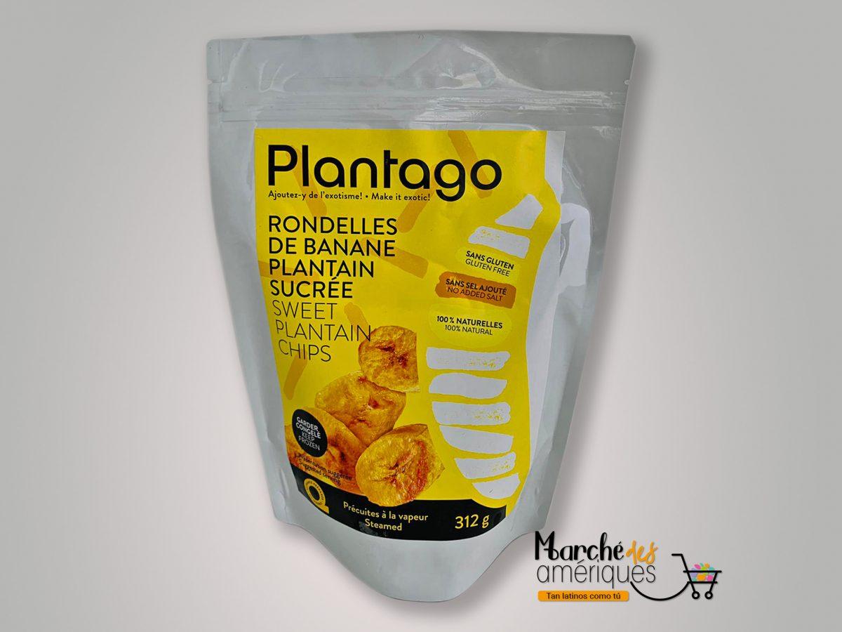 Chips De Platano Dulce Plantago 312 G