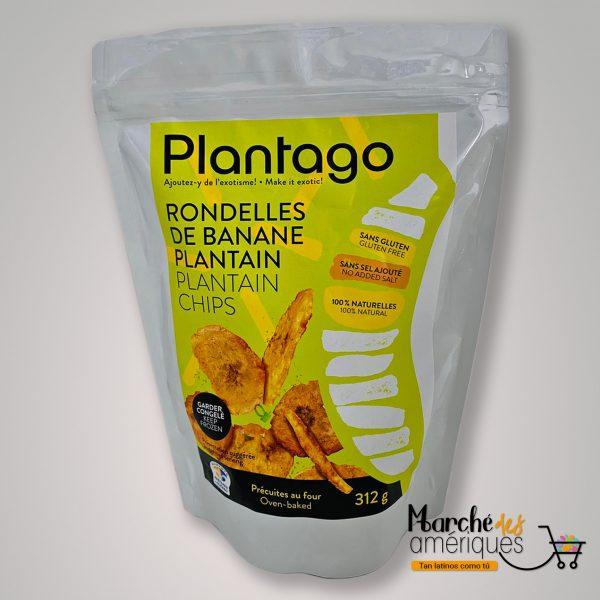 Chips De Platano Plantago 312 G