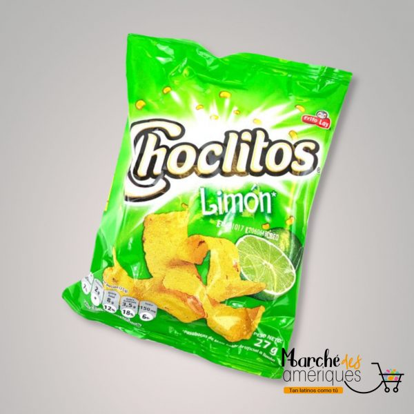 Choclitos Limon Frito Lay 27 G