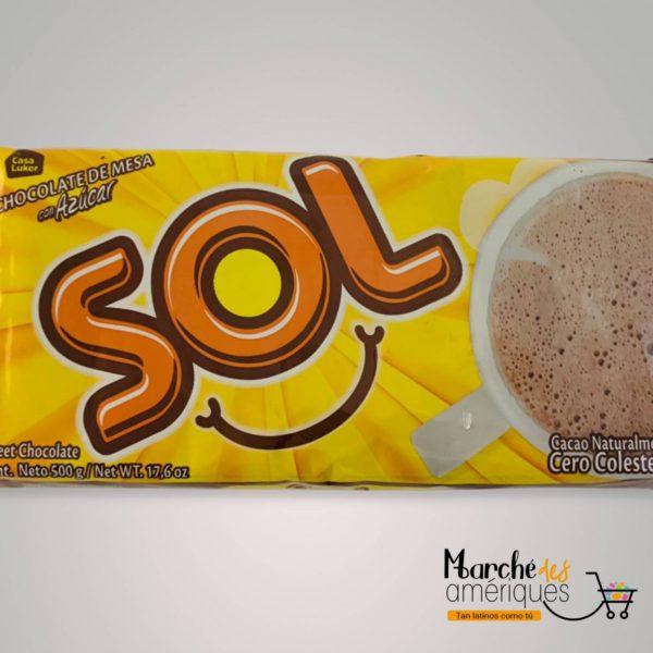 Chocolate Con Azucar Sol 500 G