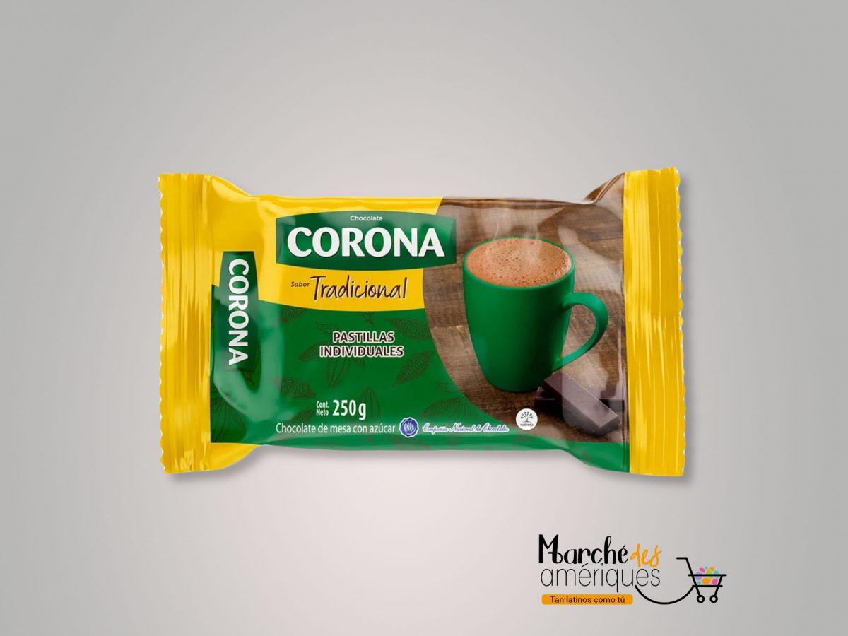 Chocolate Tradicional Corona 250 G