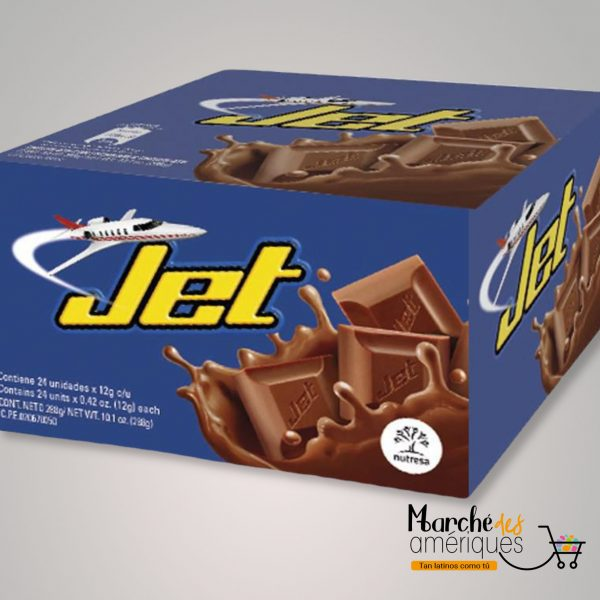 Chocolatina Jet Nutresa 24 Unidades