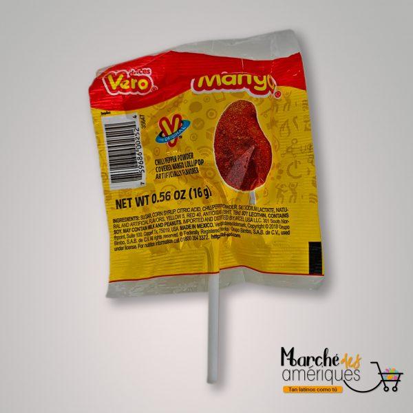 Chupeta De Mango Vero 16 G