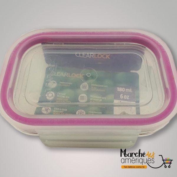 Clearlock Cubiertas Hermeticas De Plastico Tritan 180 Ml
