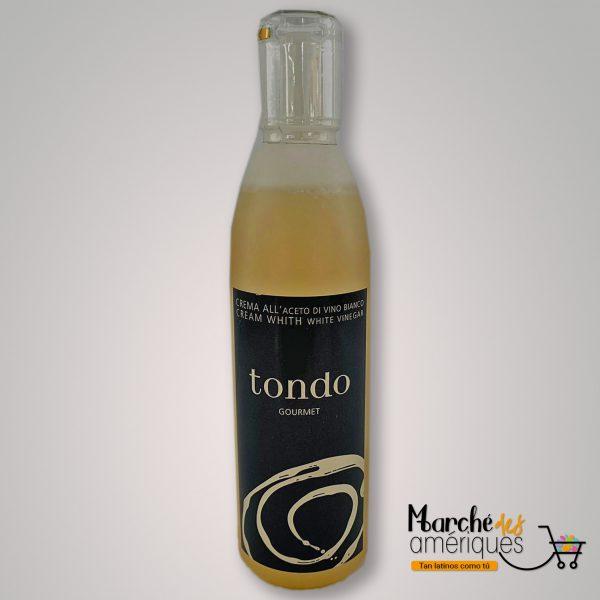 Crema Con Vinagre Blanco Tondo 8.45 Oz