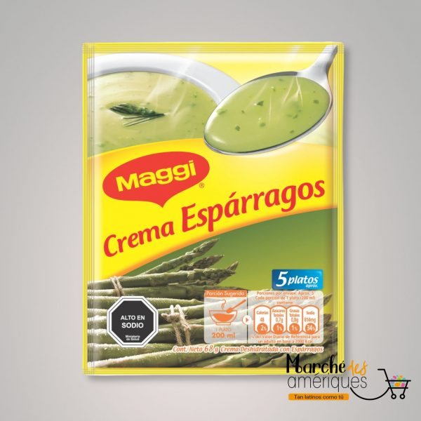 Crema De Esparragos Maggi 68 G