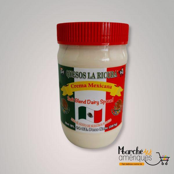 Crema Mexicana Quesos La Ricura 397 G