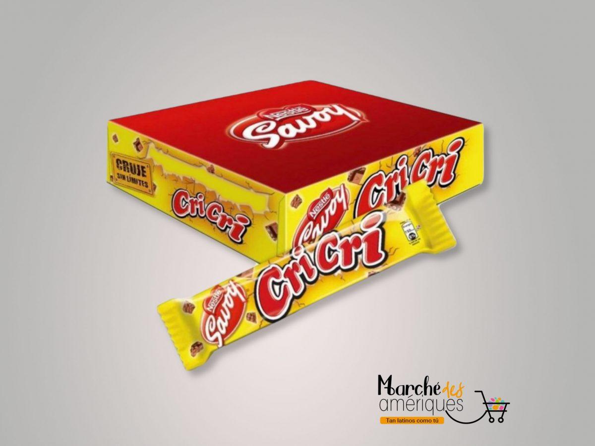 Cricri Chocolate Con Leche Y Tostaditas De Arroz Savoy 27 G