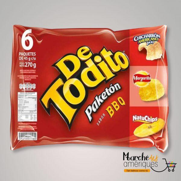 De Todito Paketon Bbq Pepsico 270 G