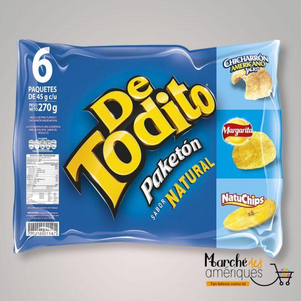 De Todito Paketon Natural Pepsico 270 G