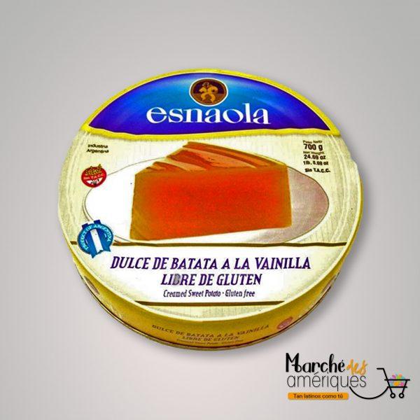 Dulce De Batata A La Vainilla Esnaola 700 G