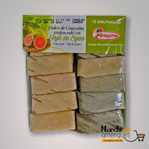 Dulce De Guayaba El Paraguitas 12 X 420 G