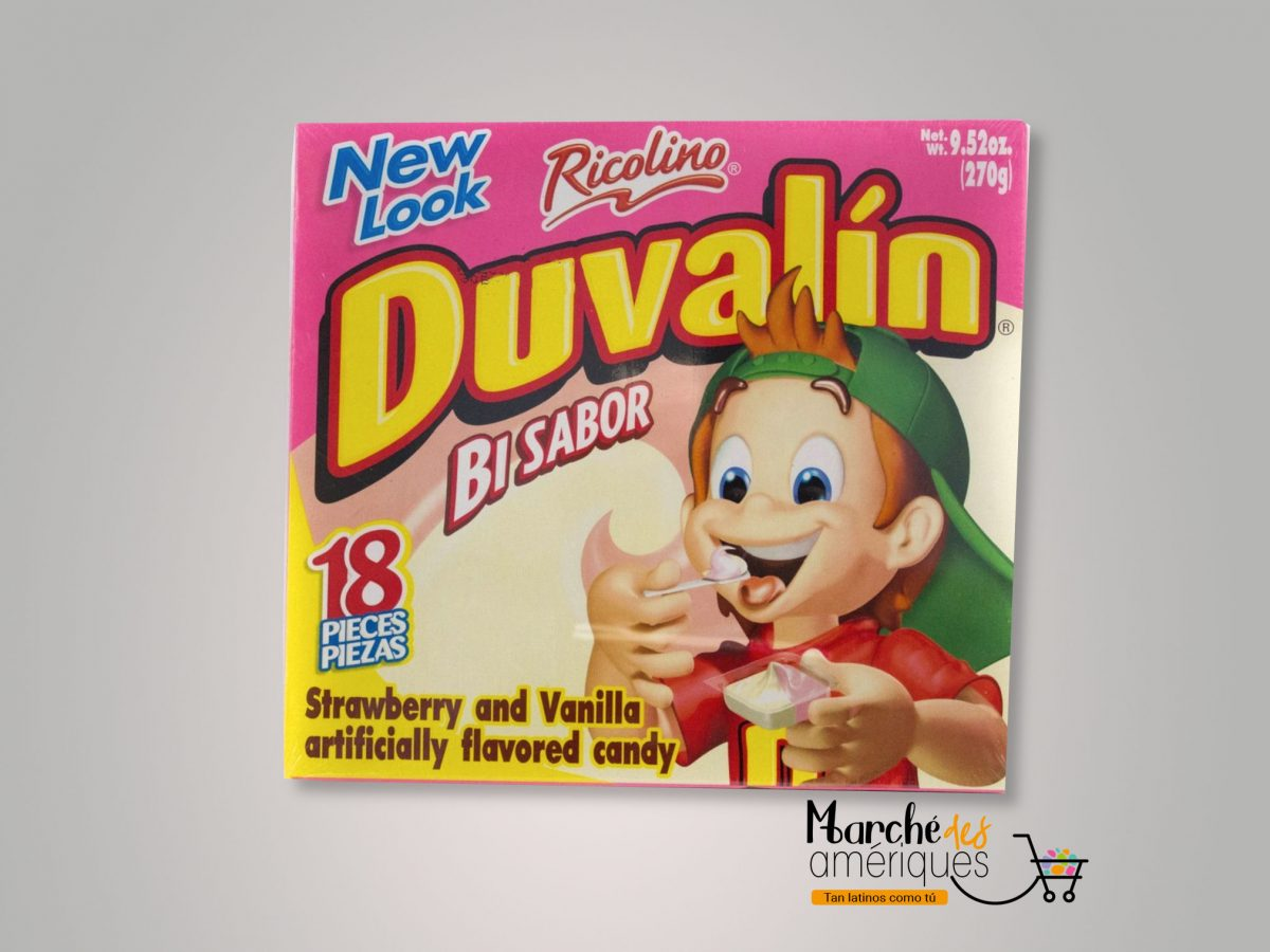 Duvalin Dulce De Fresa Y Vainilla Ricolino 18 X 270 G