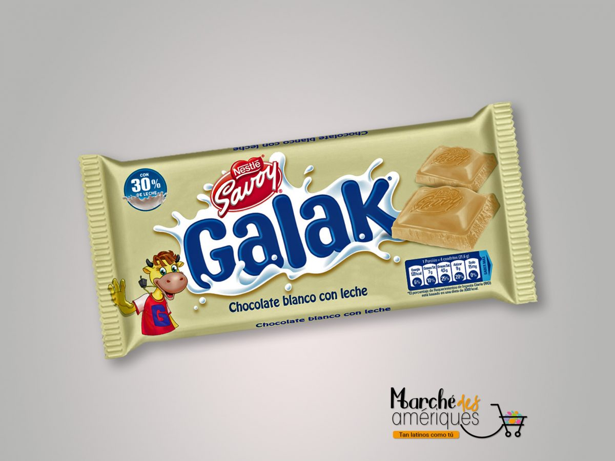 Galak Chocolate Blanco Nestl A Savoy 130 G