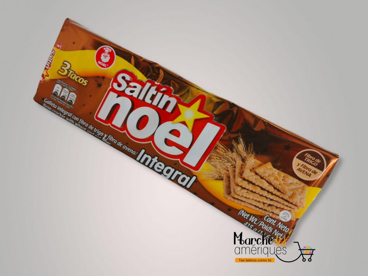 Galleta Con Fibra De Trigo Y Avena Saltin Integral Saltin Noel 415 G