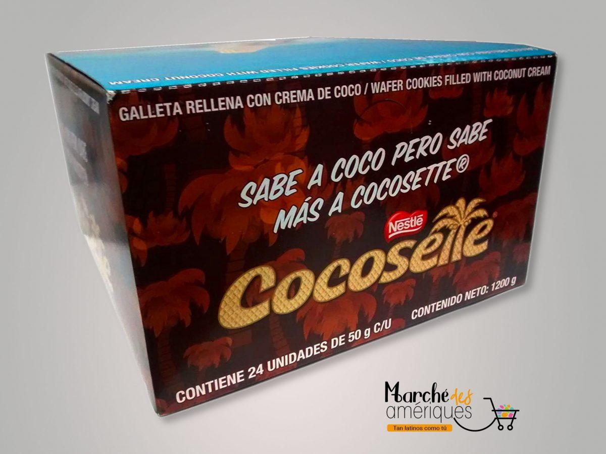 Galleta Rellenas De Coco Cocosette Nestle 1200 G
