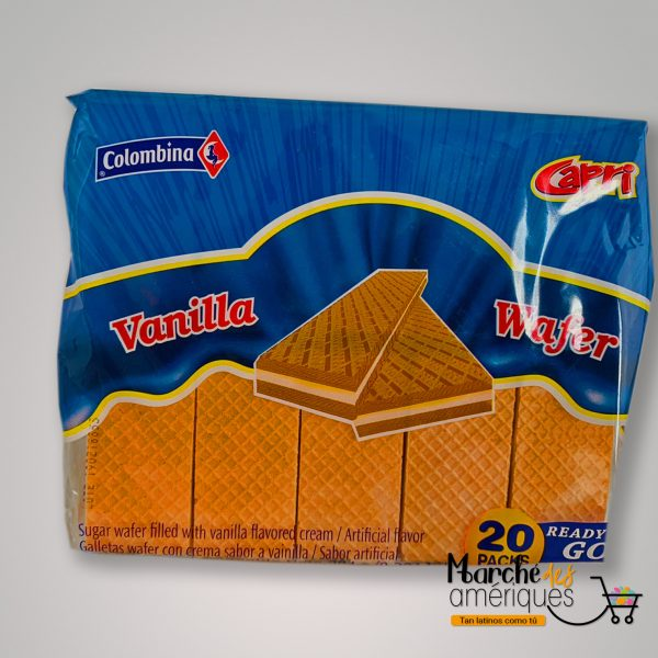 Galletas Capri Wafer De Vainilla Colombina 284 G