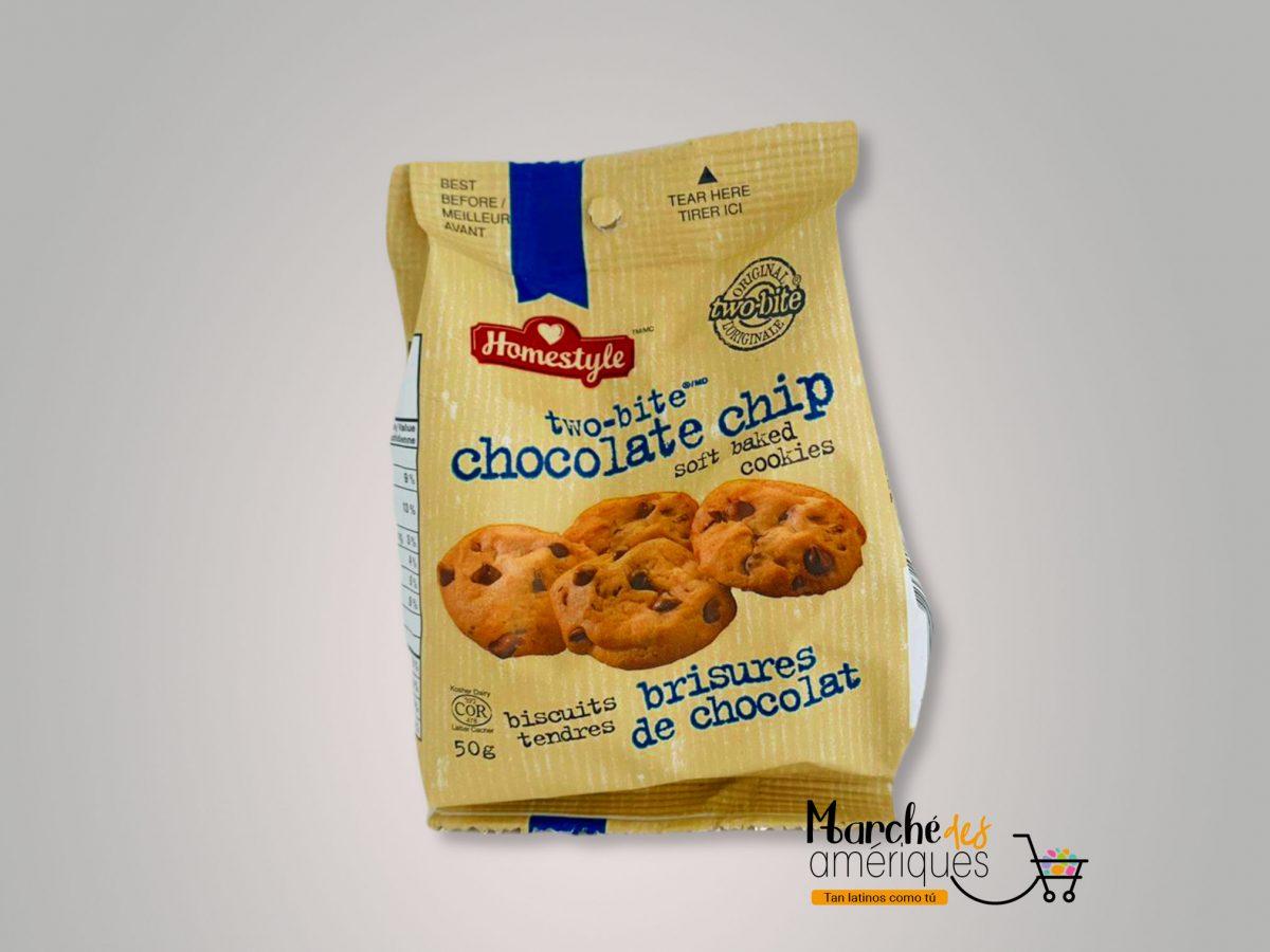 Galletas Con Chips De Chocolate Two Bite 50 G