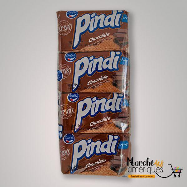 Galletas Con Crema Chocolate Pindi 12 Und