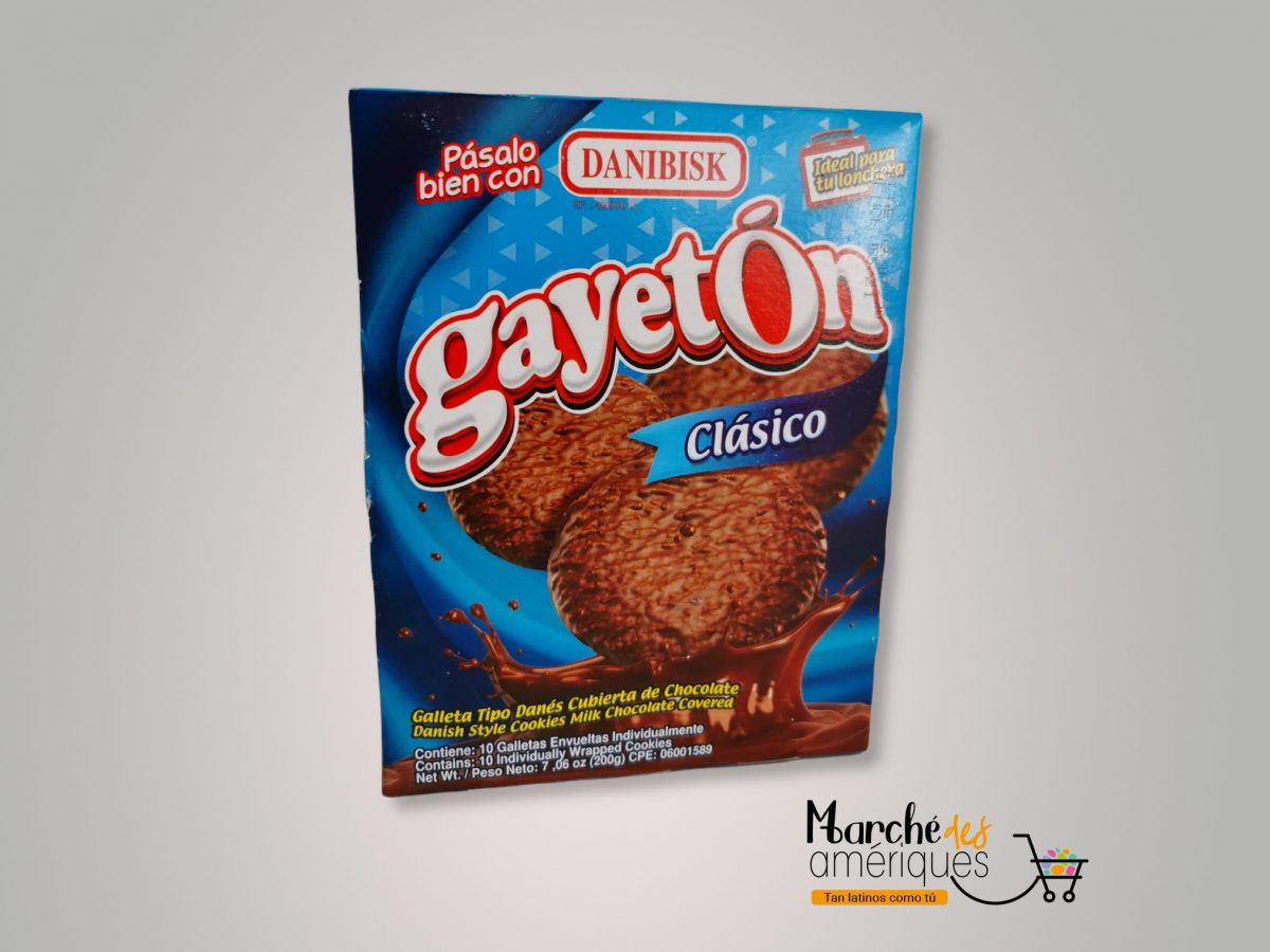 Gayeton Galleta Tipo Danes Danibisk 10 Ud