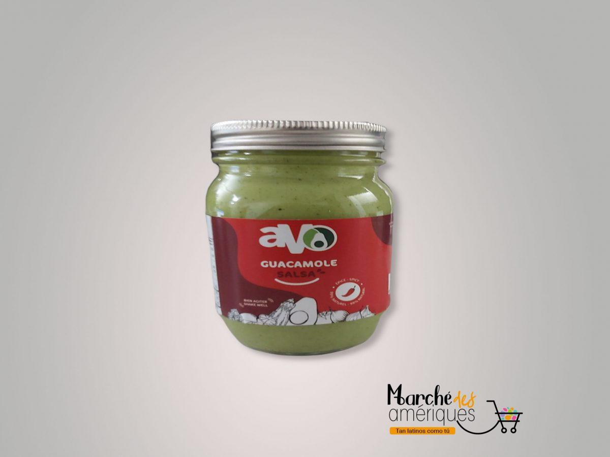 Guacamole Salsa Frasco Picante Avo 250 G 1
