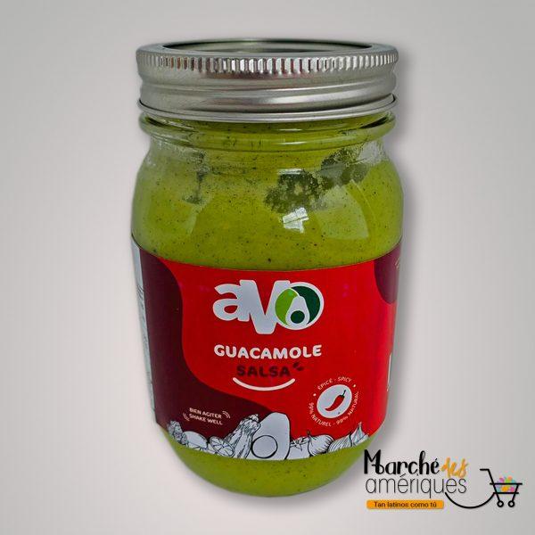 Guacamole Salsa Frasco Picante Avo 250 G