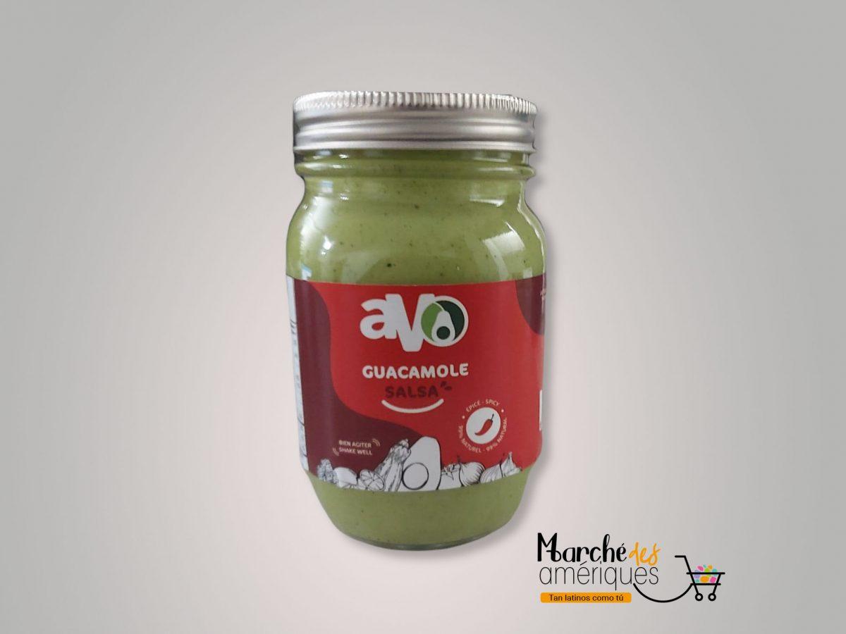 Guacamole Salsa Frasco Picante Avo 500 G