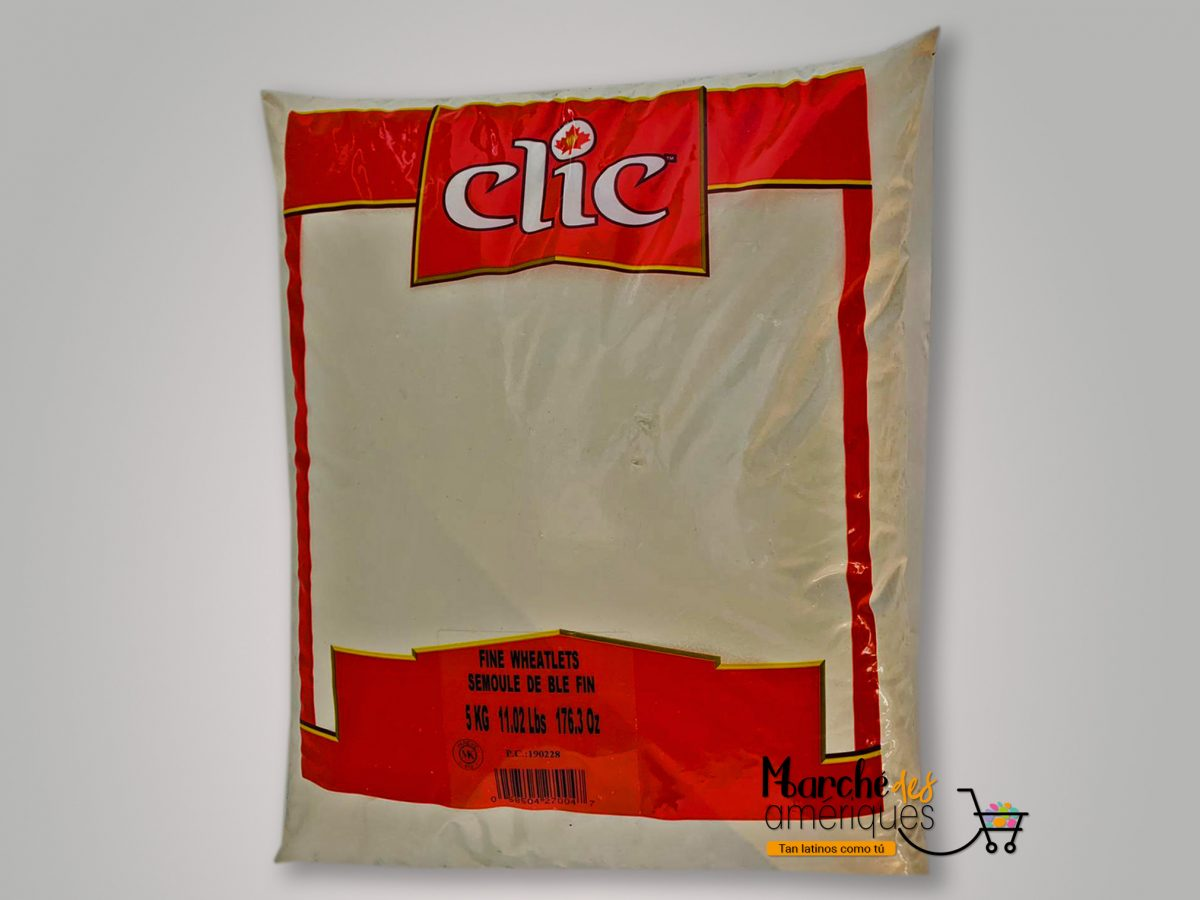 Harina De Trigo Fino Clic 5 Kg