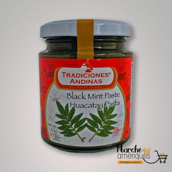 Huacatay Pasta Tradiciones Andinas 213 G
