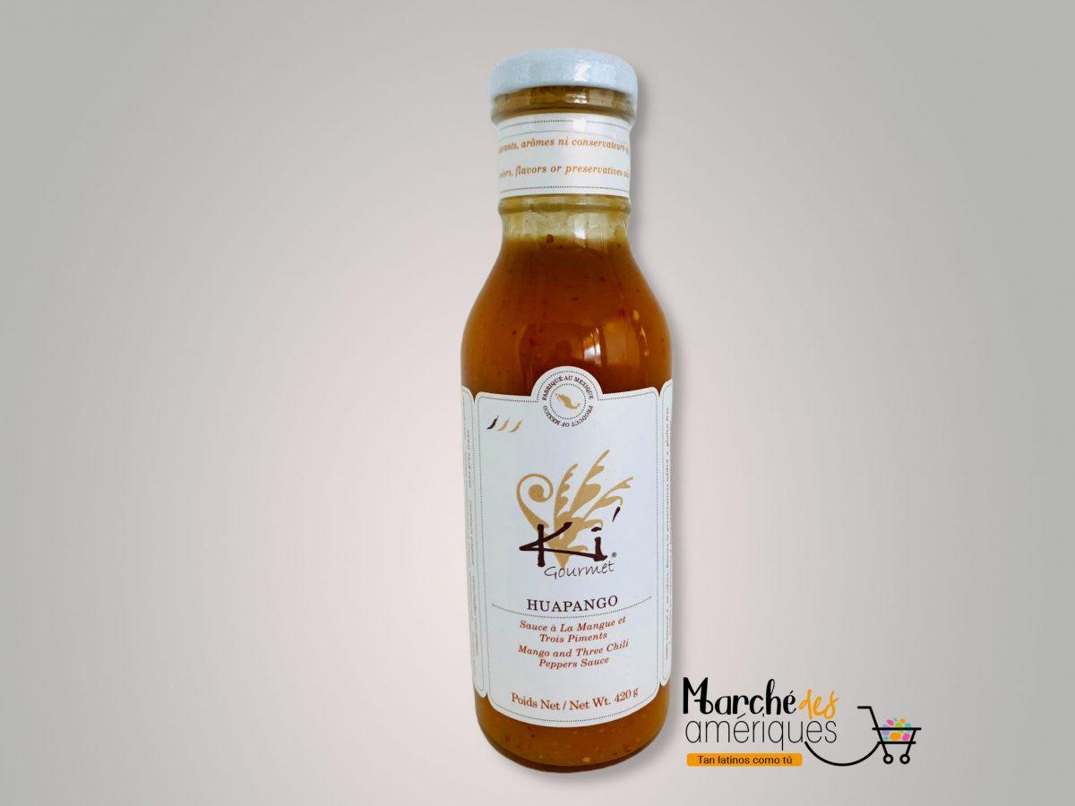 Hupango Salsa De Mango Y Tres Chiles Ki Gourmet 420 G