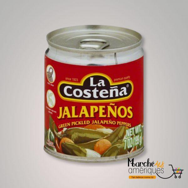 Jalapenos Marinados La Costena 199 Ml