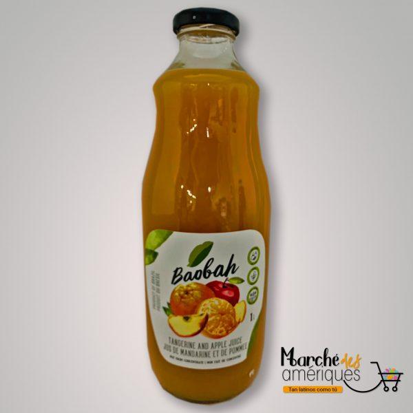 Jugo De Mandarina Y Manzana Baobah 1 L