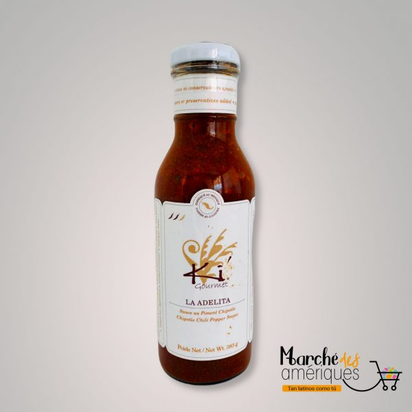 La Adelita Salsa De Chile Chipotle Ki Gourmet 383 G