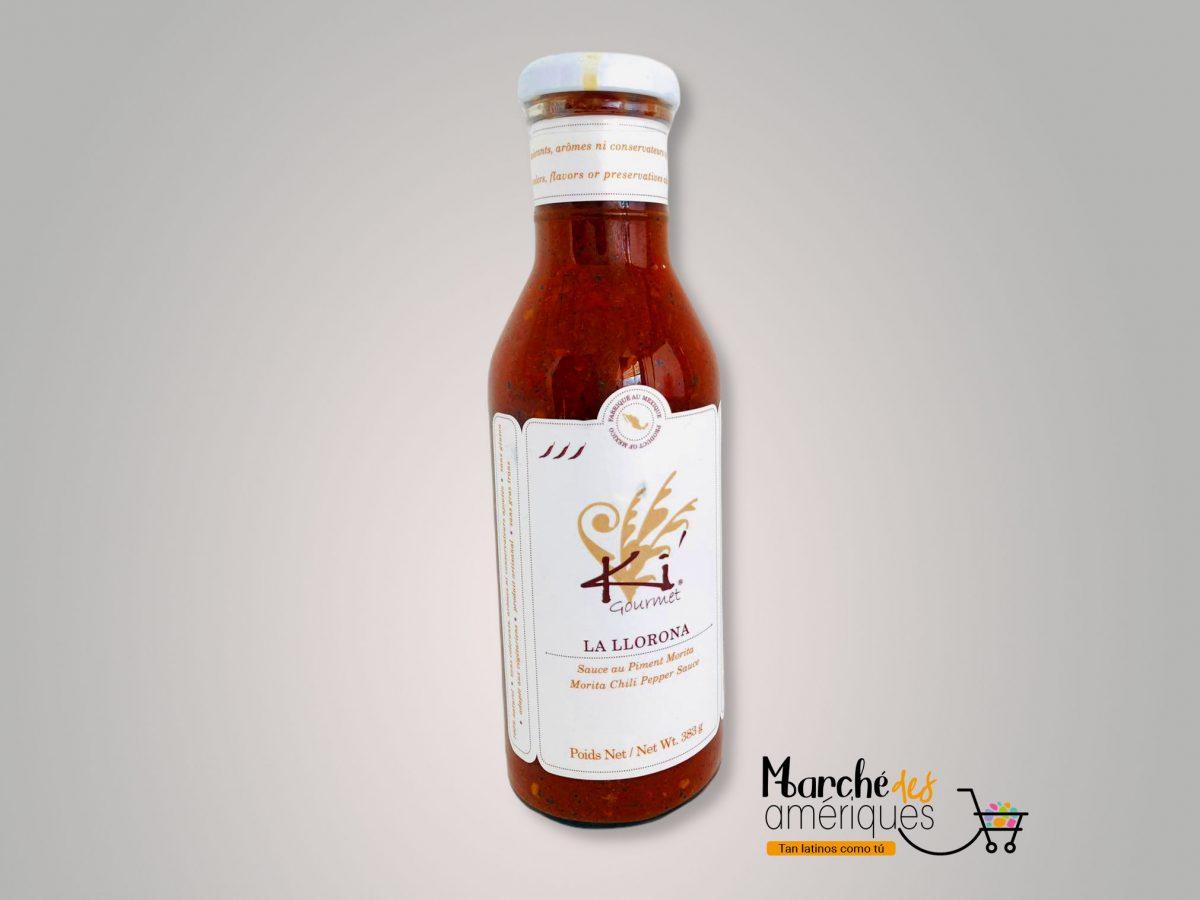 La Llorona Salsa Chile Morita Ki Gourmet 383 G
