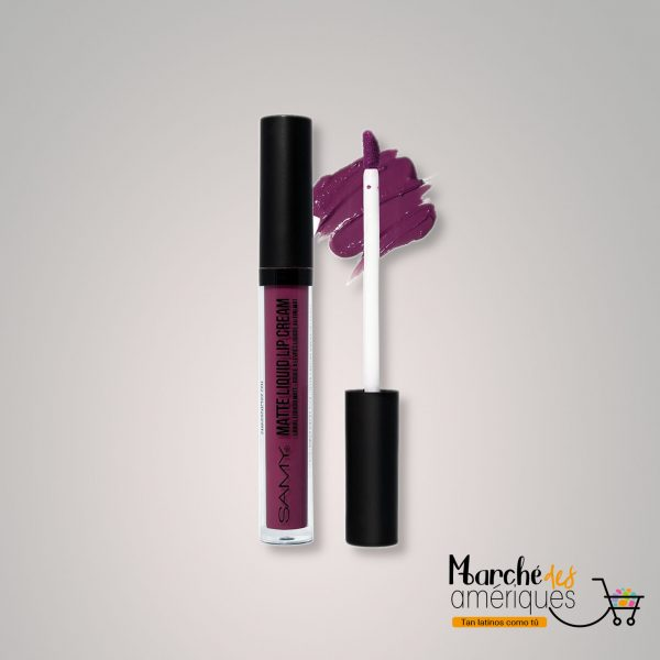 Labial Liquido Mate 14 Midnight Drama Samy 4 Ml