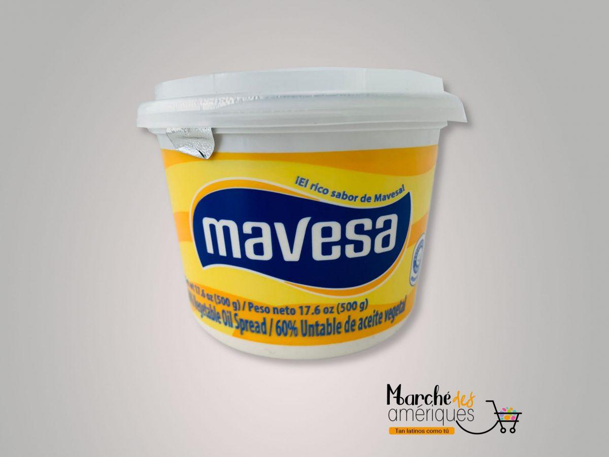 Mantequilla De Aceite Vegetal Mavesa 500 G