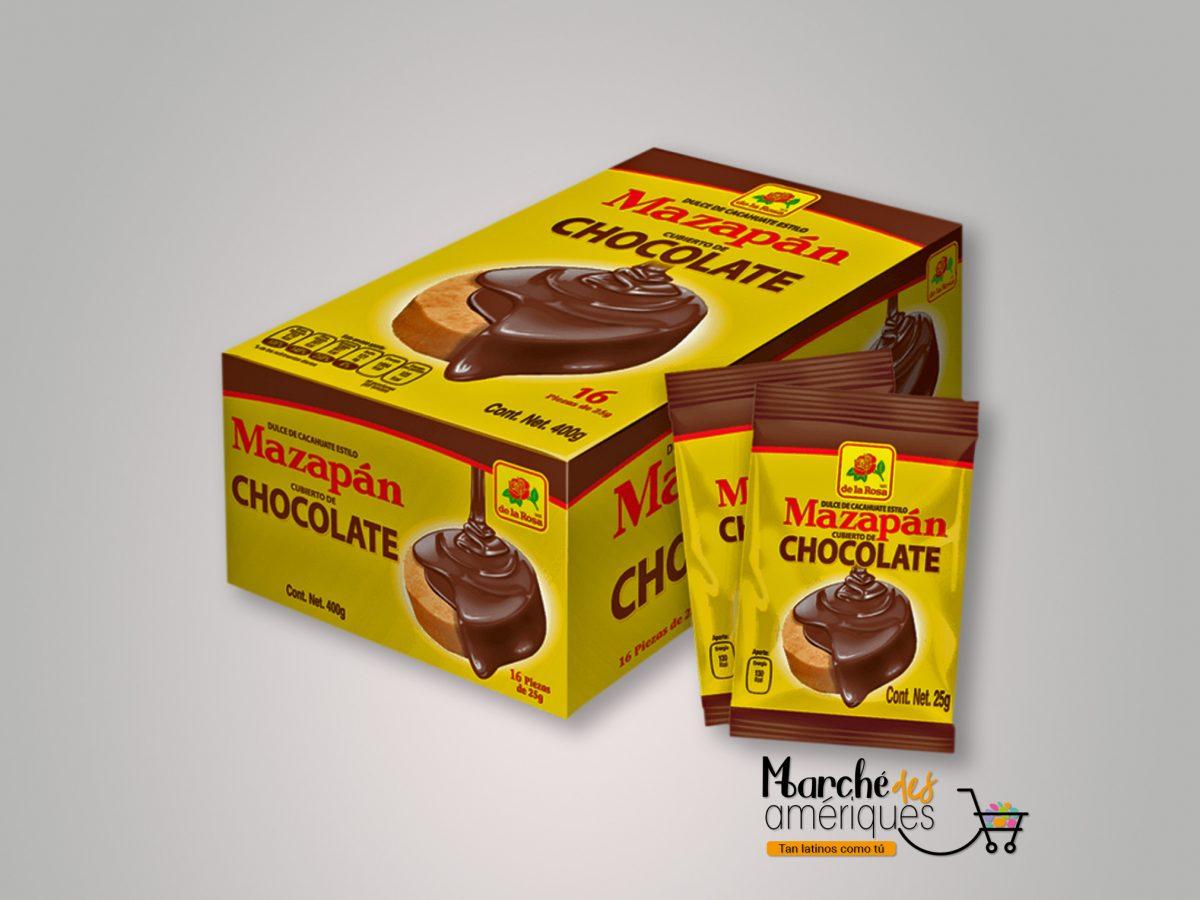 Mazapan Cubiertos De Chocolate De La Rosa 16 Und