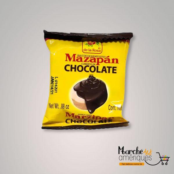 Mazapan Cubiertos De Chocolate De La Rosa 88 Oz