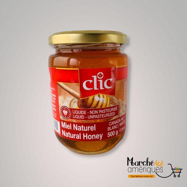 Miel Natural Liquida No Pasteurizada Clic 500 G