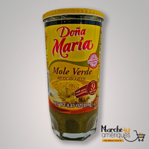 Mole Verde Salsa Mexicana Dona Maria 234 G