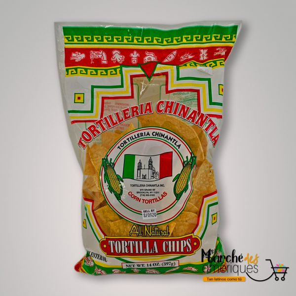 Nachos De Maiz Tortilleria Chinatla 397
