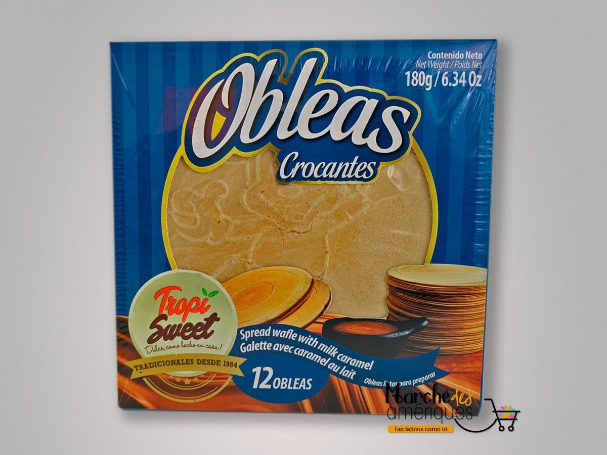 Obleas Crocantes Tropi Sweet 12 Und