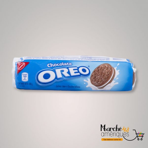 Oreo Galleta Sabor A Chocolate Rellena Nabisco 108 G
