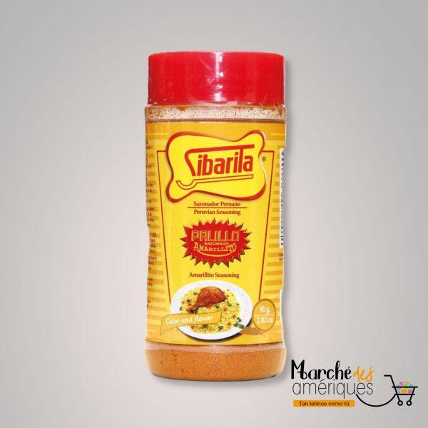 Palillo Sazonado Amarillito Sal De Condimentos Sibarita 80 G